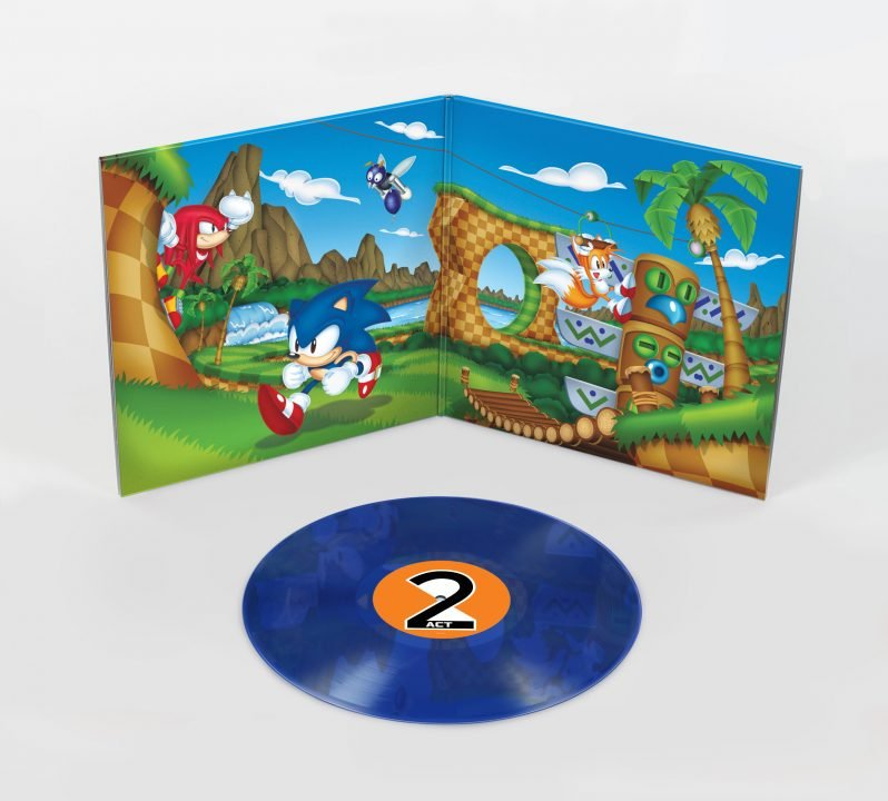SEGA Partners Up With Data Discs To Bring Sonic Mania Vinyl 3