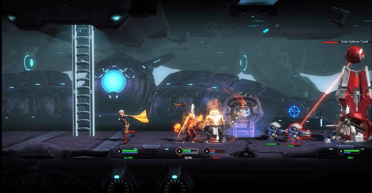 Side-Scrolling Moba Hyper Universe Begins Closed Beta Testing 2
