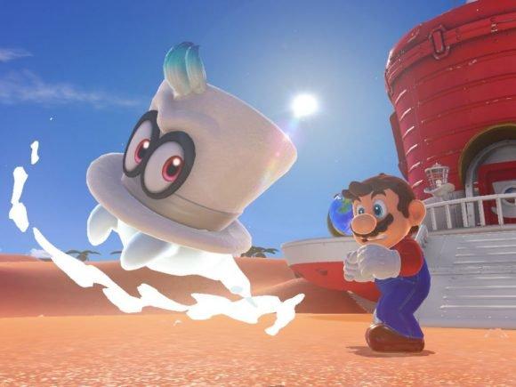 Super Mario Odyssey E3 2017 Preview- Possible Switch Classic 3