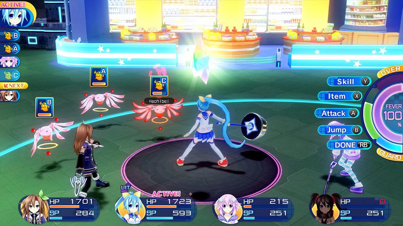 Superdimension Neptune VS Sega Hard Girls – Steam Review 2