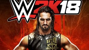 WWE Highlight Superstar Seth Rollins in WWE 2K18 Cover