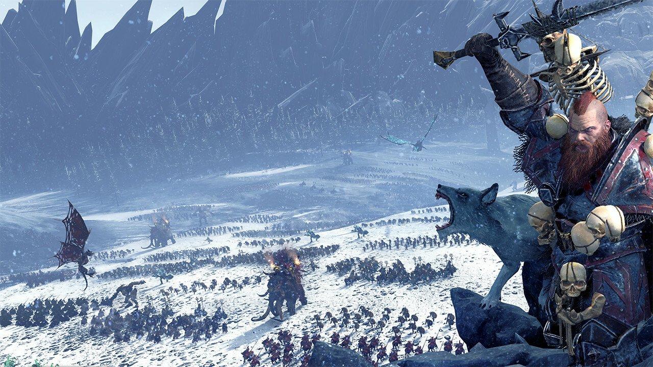 Norsca Assault Total War: WARHAMMER as New Playable Race