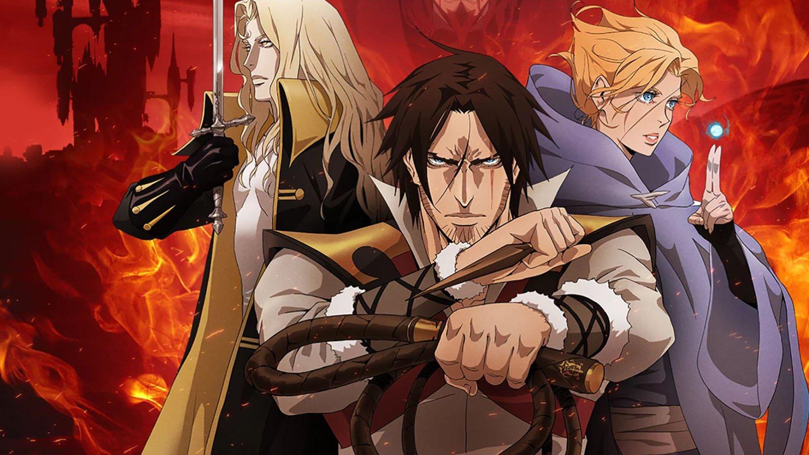 Castlevania Season 1 Review - Netflix Original Paint-by-Numbers 1