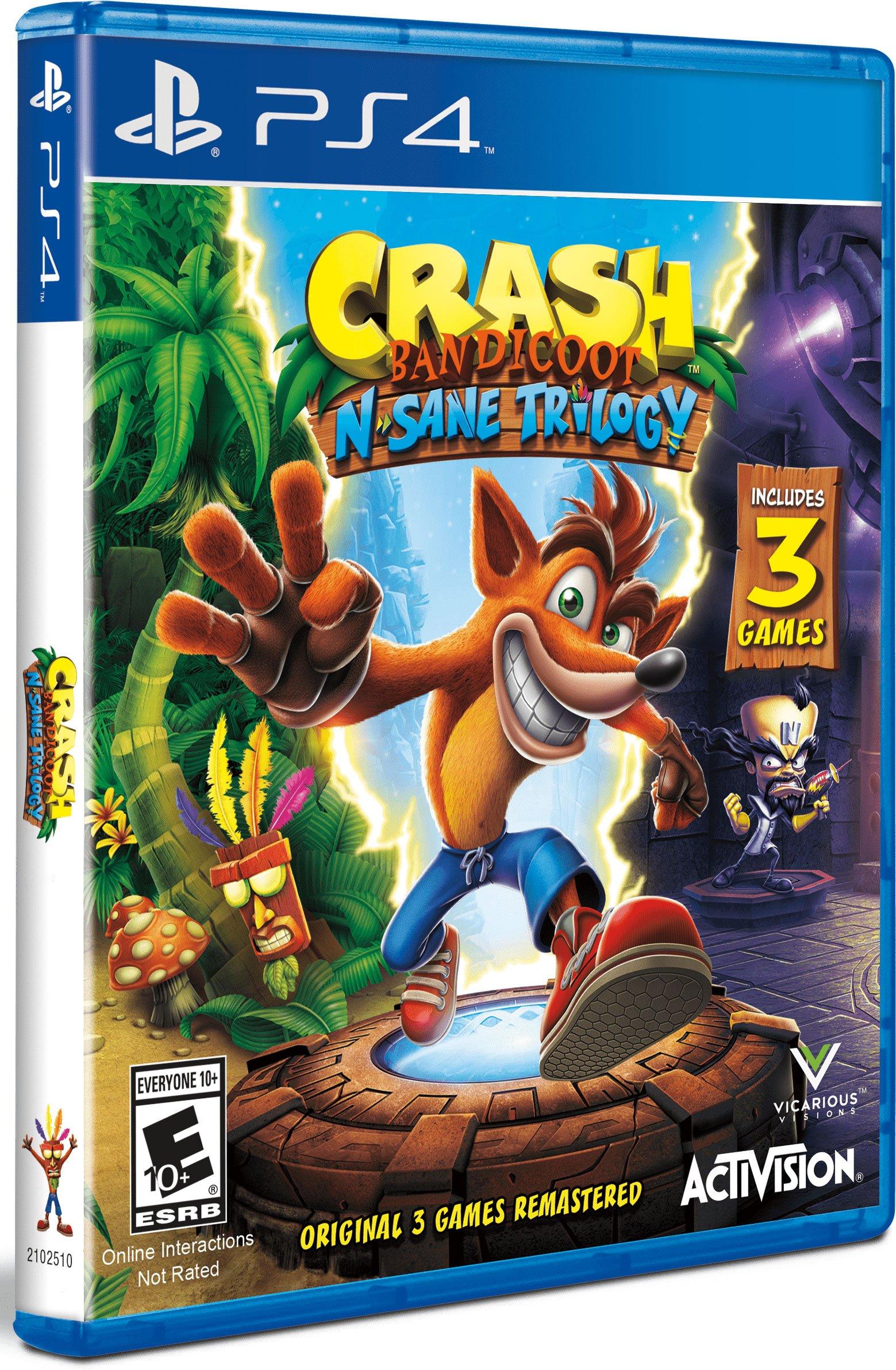 Crash Bandicoot N. Sane Trilogy Review- Crash N. Burn 2