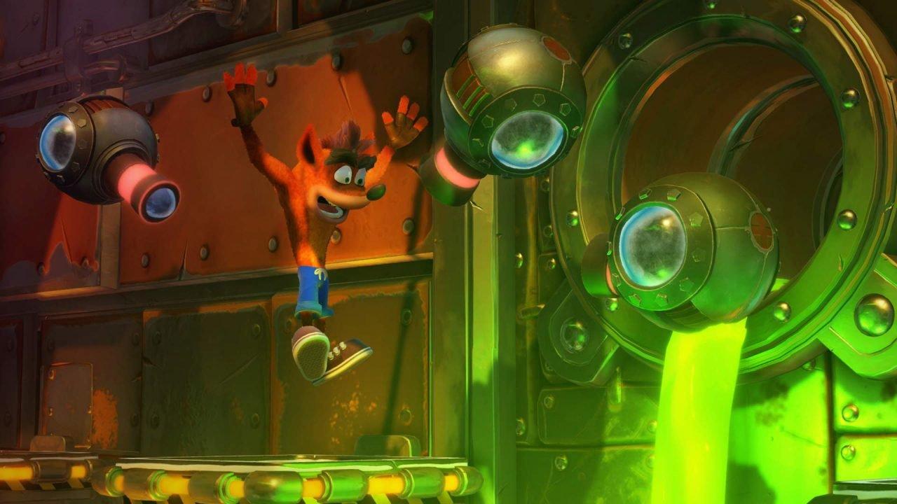 Crash Bandicoot N. Sane Trilogy Review- Crash N. Burn