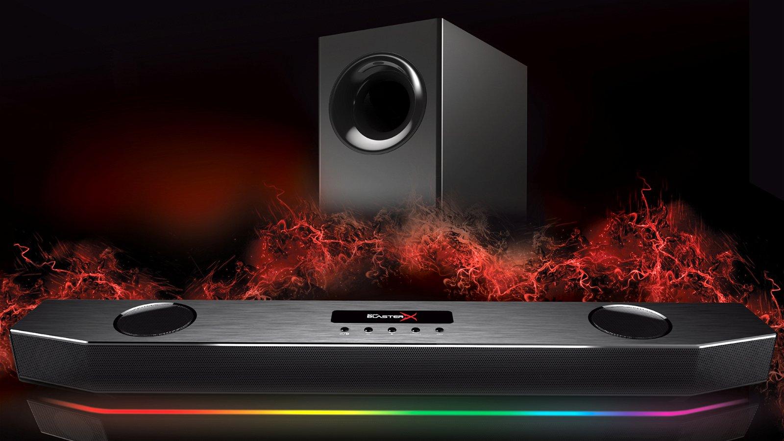 Creative Sound Blasterx Katana (Soundbar) Review - Big Sound, Small Package 5