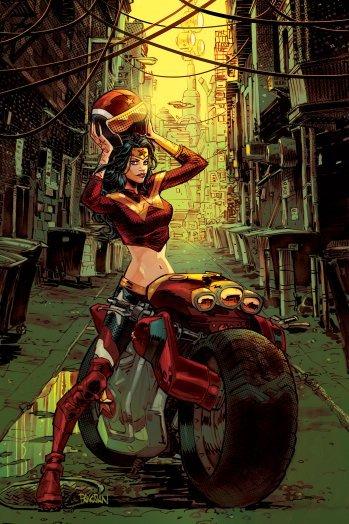 Dc Unleashing Gotham City Garage Comic, Based On Series Of Popular Statues