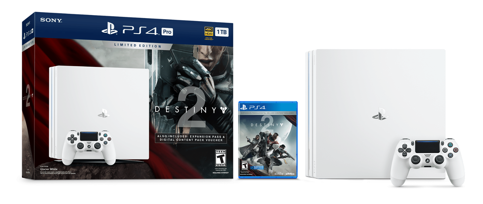 Destiny 2 Limited Edition Playstation 4 Pro Console Announced