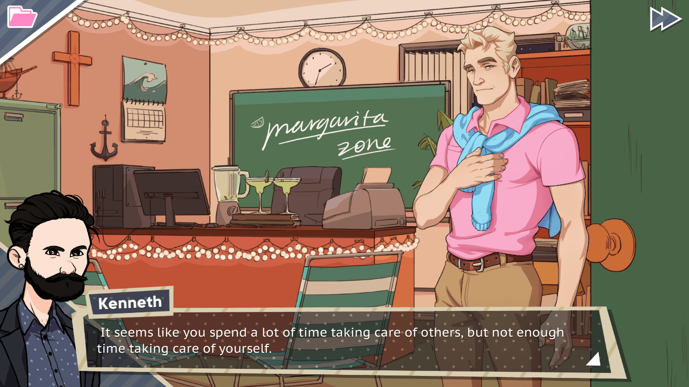 Dream Daddy: A Daddy Dating Simulator (Pc) Review 1
