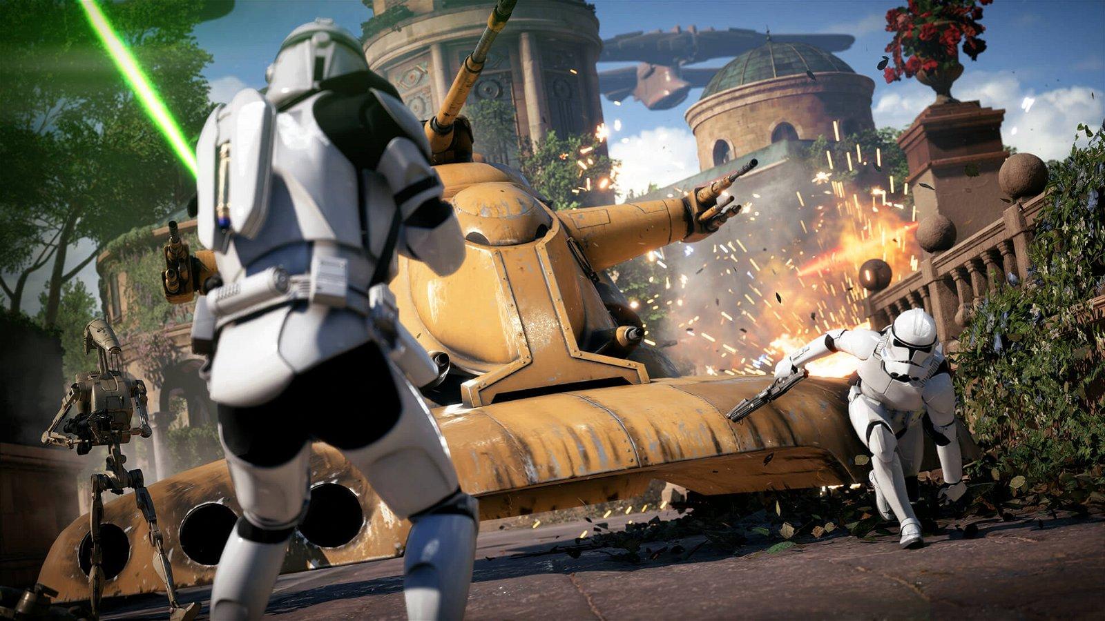 Ea Announces Star Wars Battlefront Ii Beta, Slated For October