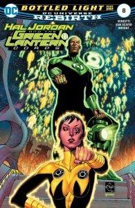 Hal Jordan And The Green Lantern Corps: Bottled Light (Comic) Review