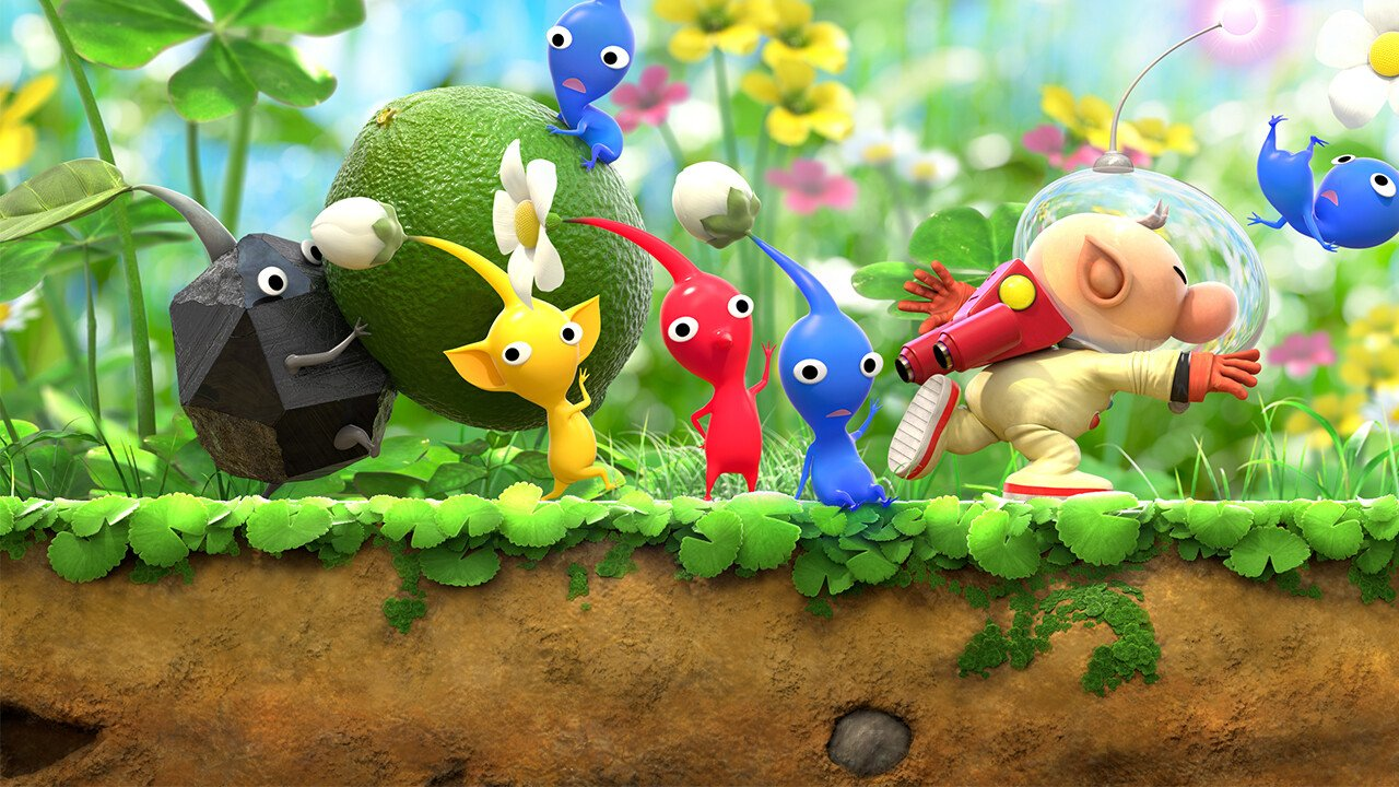 Hey! Pikmin (Nintendo 3DS) Review - Imitation gameplay 7