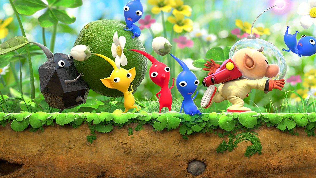 Hey! Pikmin (Nintendo 3DS) Review - Imitation gameplay 8