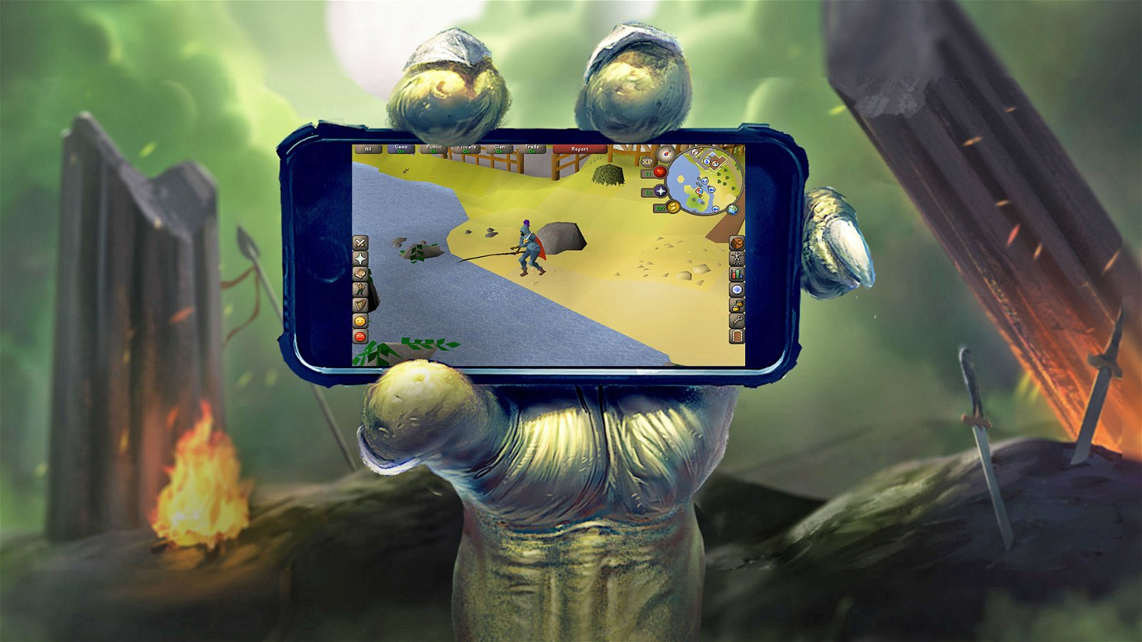 Jagex unveils Runescape For Mobile Devices, Coming Winter 2017 2
