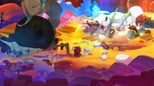 Pyre gameplay (PS4) Review 8