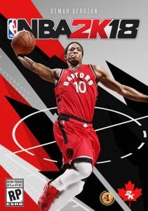 Toronto Raptor Gets NBA 2K18 Cover
