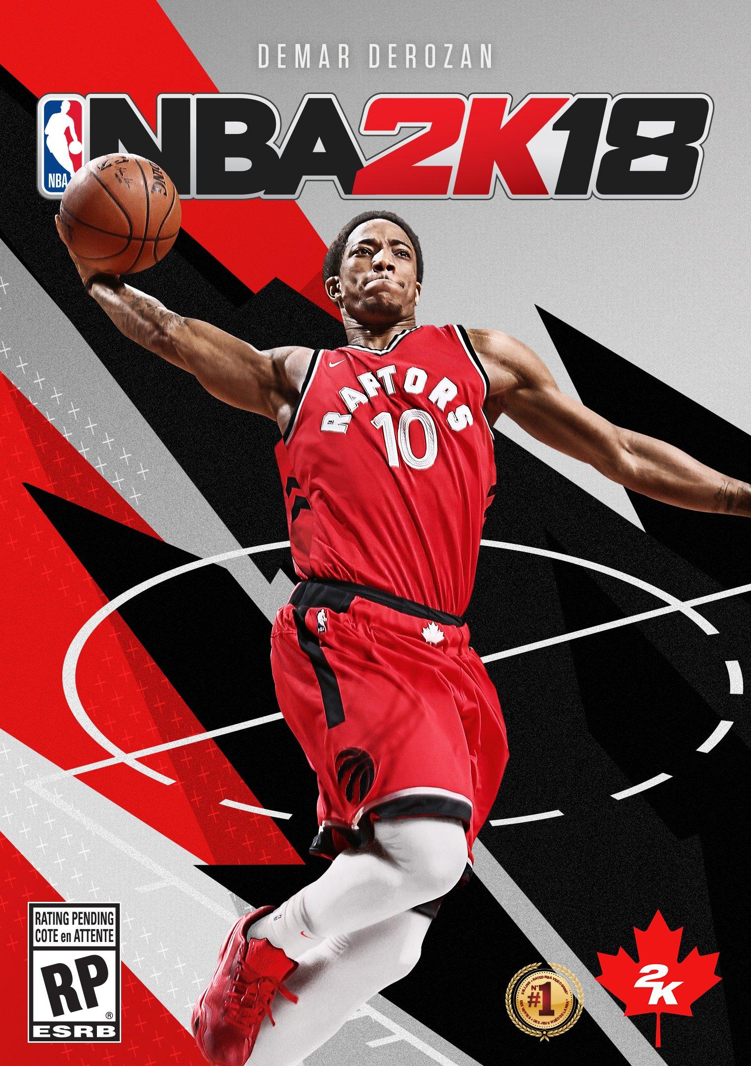 Toronto Raptor Gets Nba 2K18 Cover