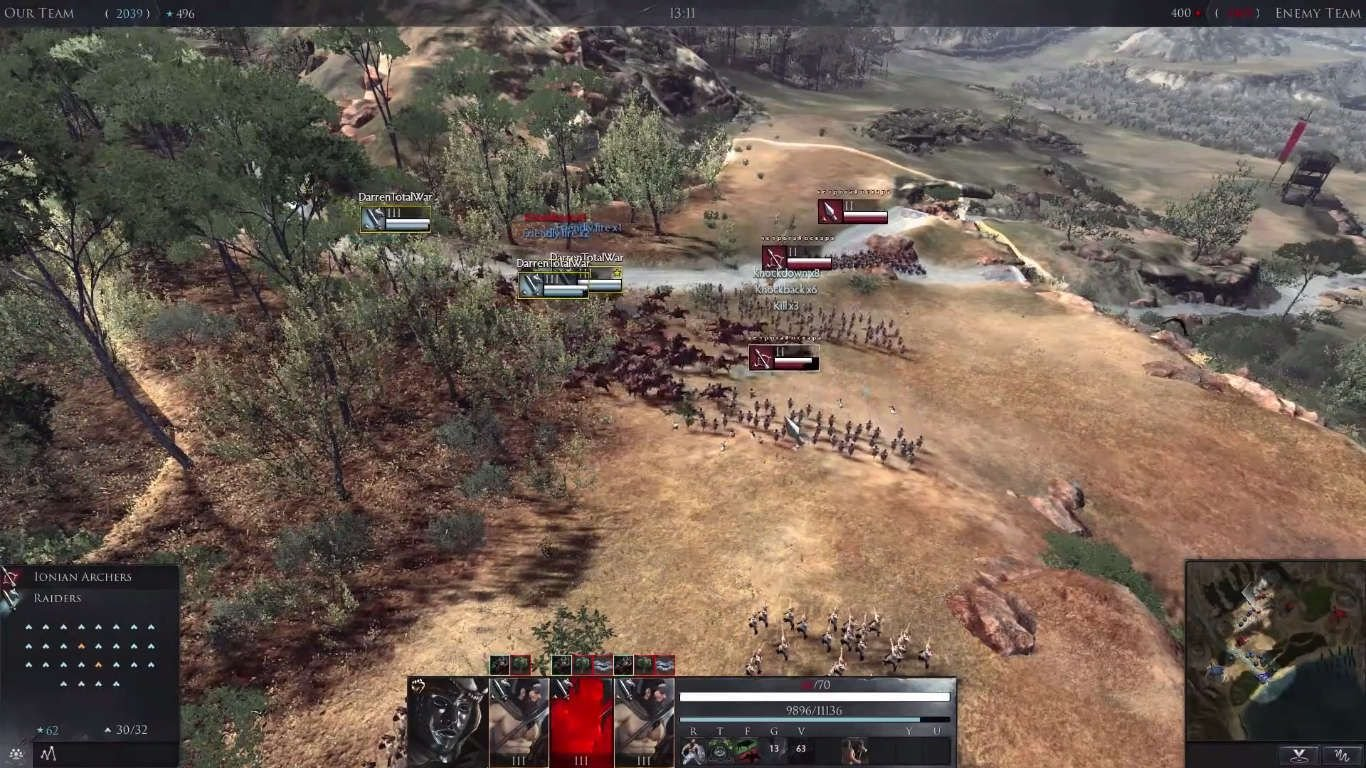 Total War: Arena Preview - 10 Vs 10 Multiplayer Chaos