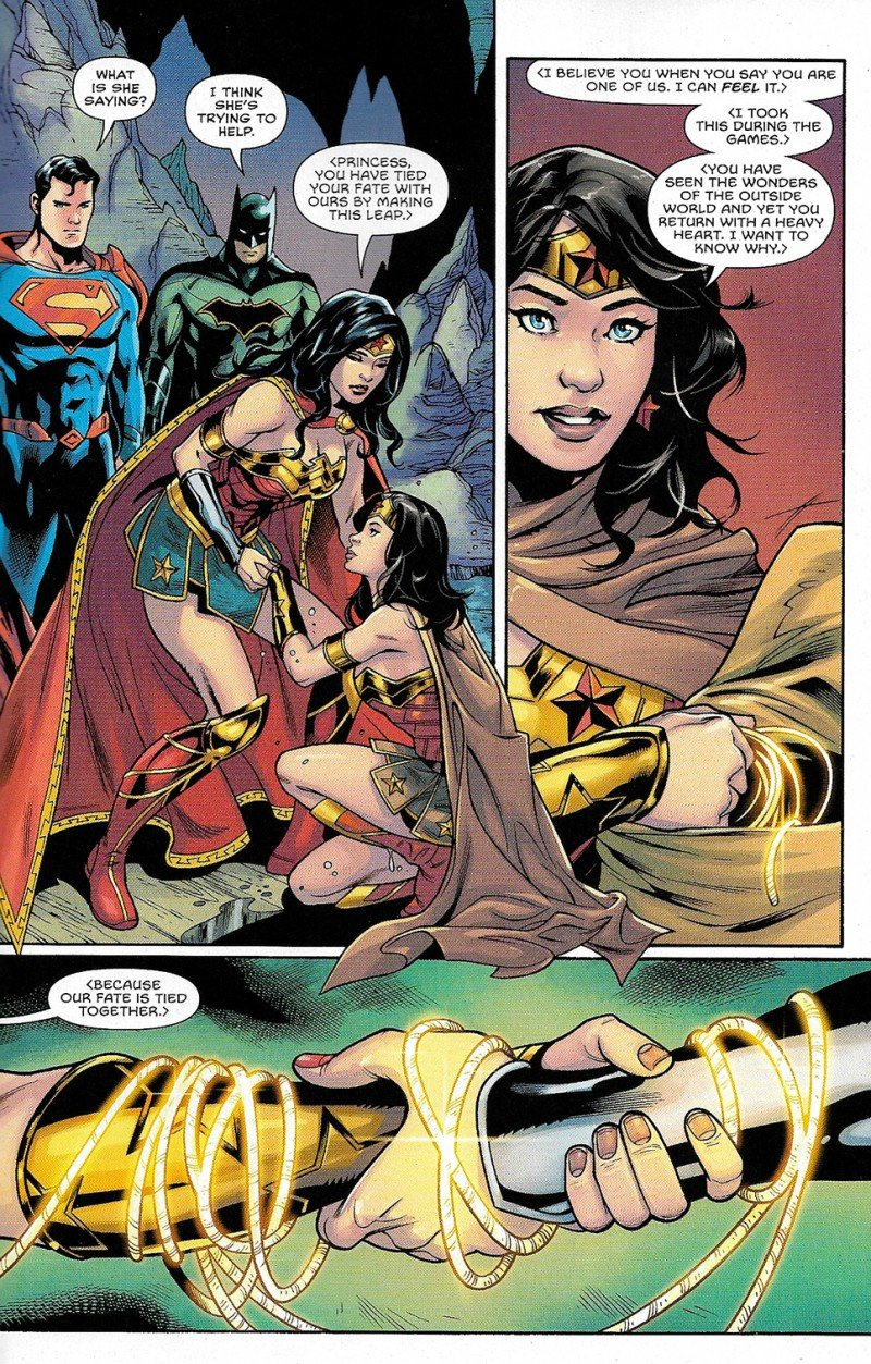 Trinity: Better Together (Comic) Review - A Dc Must Read 4