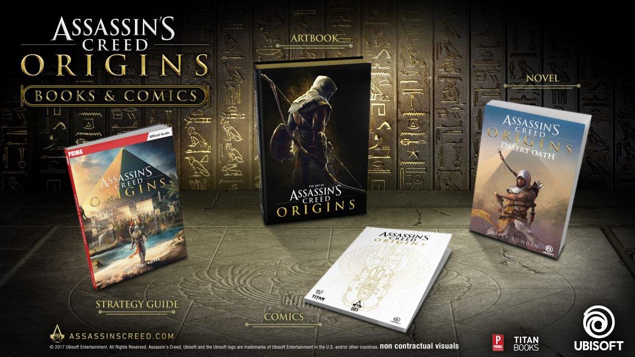 Ubisoft Announces Assassin's Creed Origins Universe Expansion Plans 1