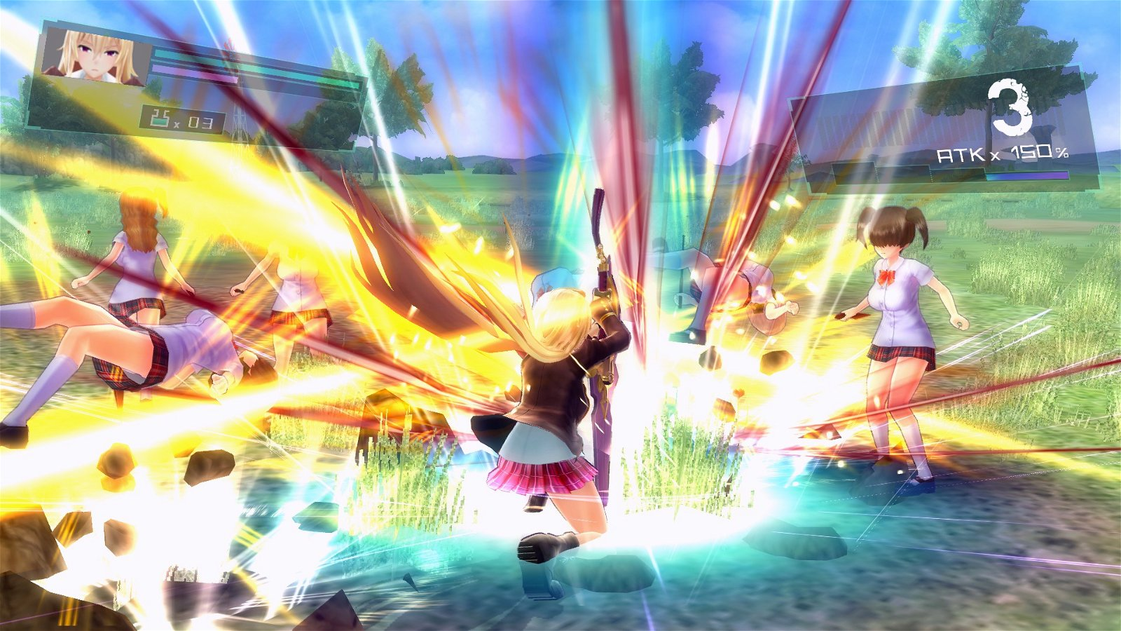 Valkyrie Drive -Bhikkhuni Review - Decent Gameplay, Poor Everything Else 3