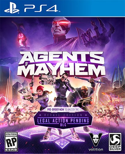 Agents of Mayhem Review - Neither a Saint nor a Devil