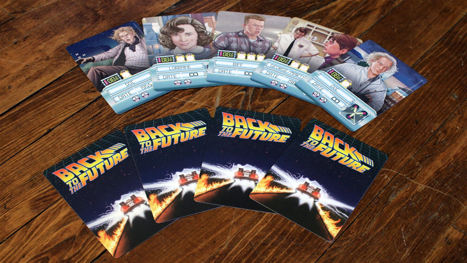 Back to the Future: An Adventure Through Time | Board Game ...