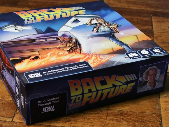 Back To The Future: An Adventure Through Time (Boardgame) Review 2