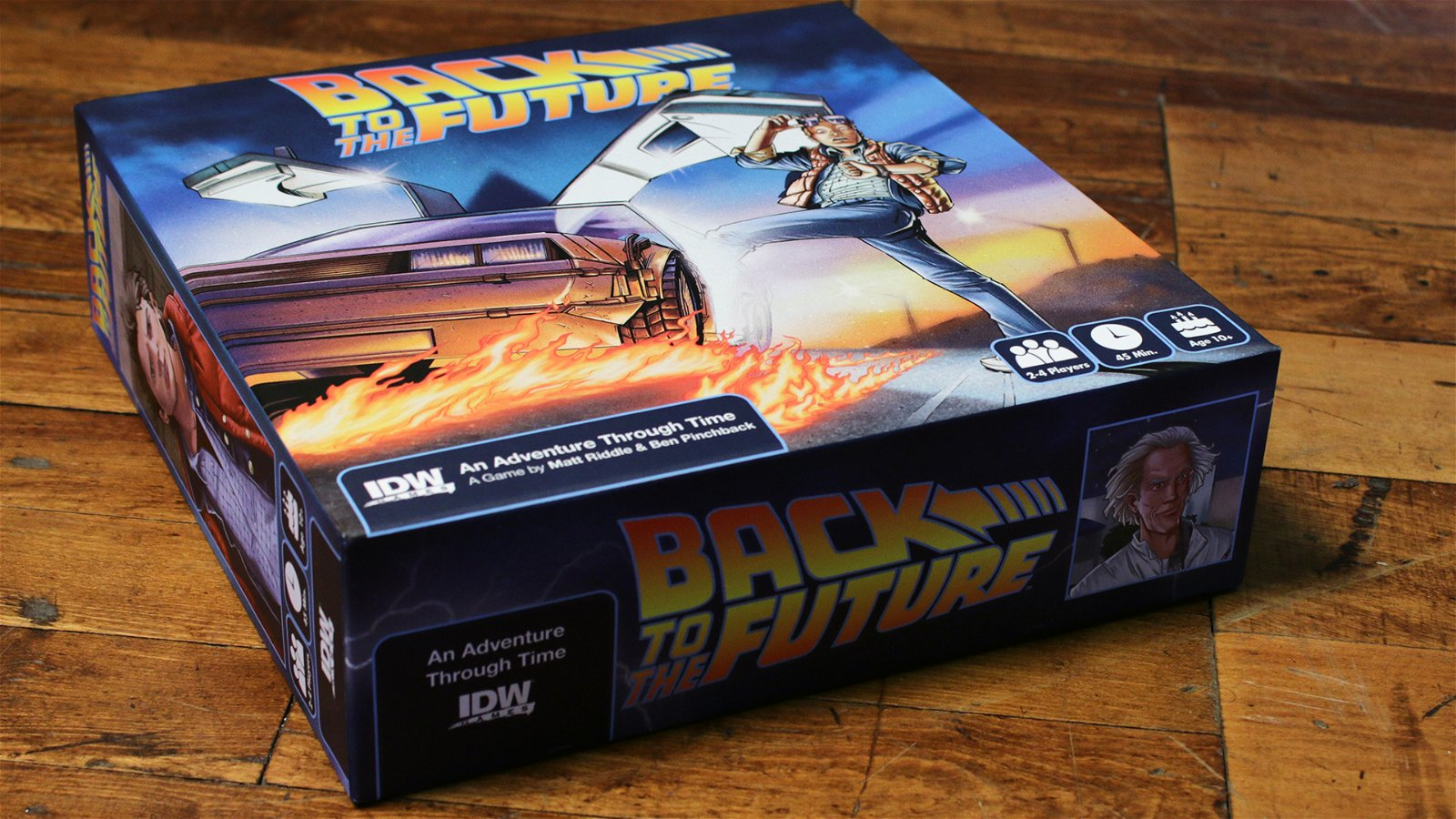 Back To The Future: An Adventure Through Time (Boardgame) Review 4