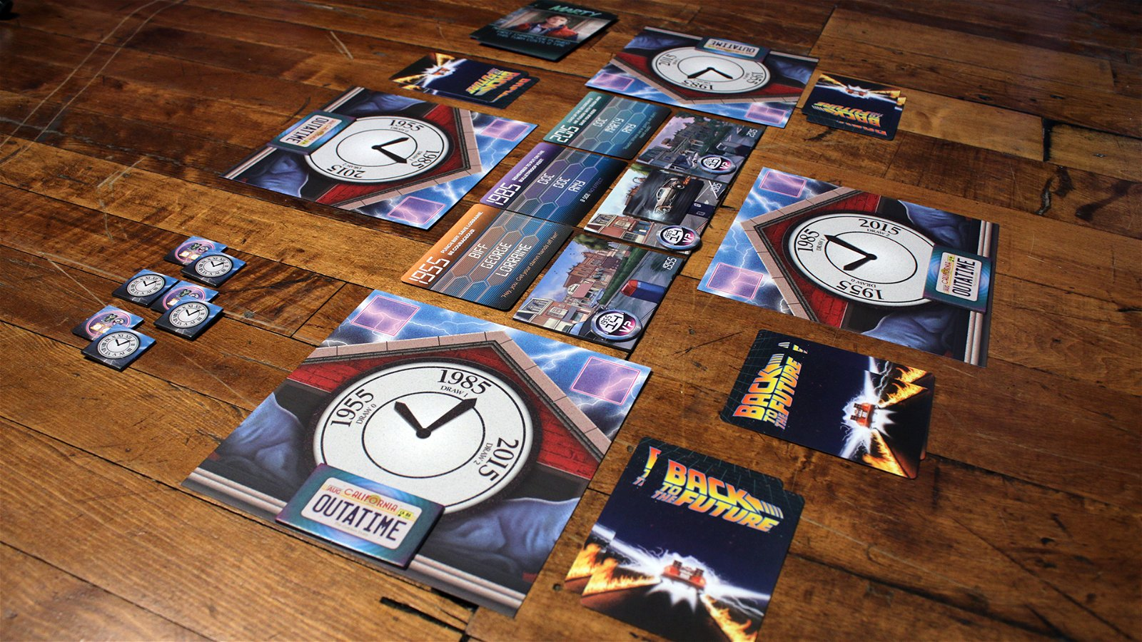 Back to the Future: Back in Time | Board Game | BoardGameGeek