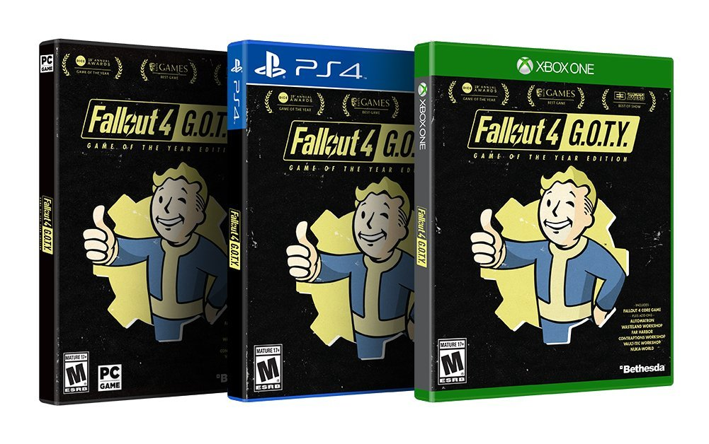 Bethesda Set To Release Fallout 4 Game of the Year Edition September 26 2017.