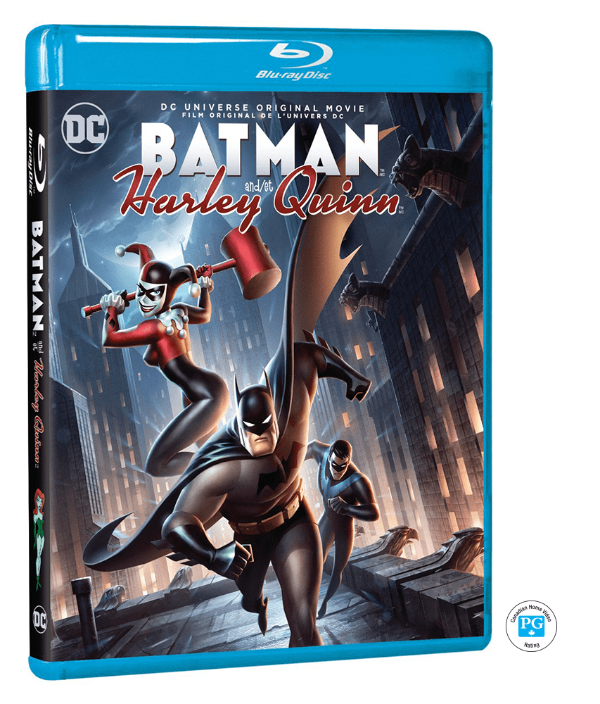 DCU Batman and Harley Quinn Blu-Ray Giveaway