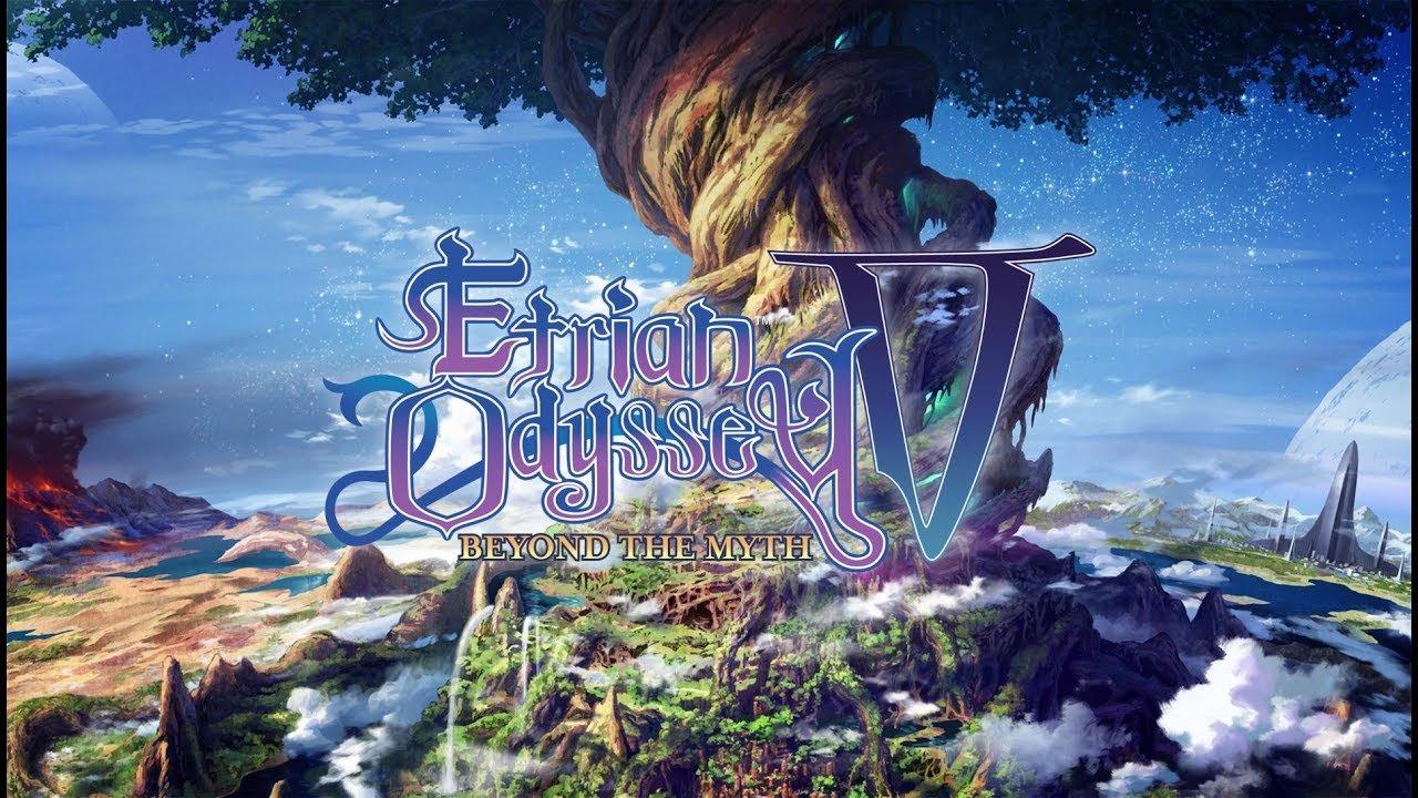 Etrian Odyssey V: Beyond the Myth Releases October 17 2017 1