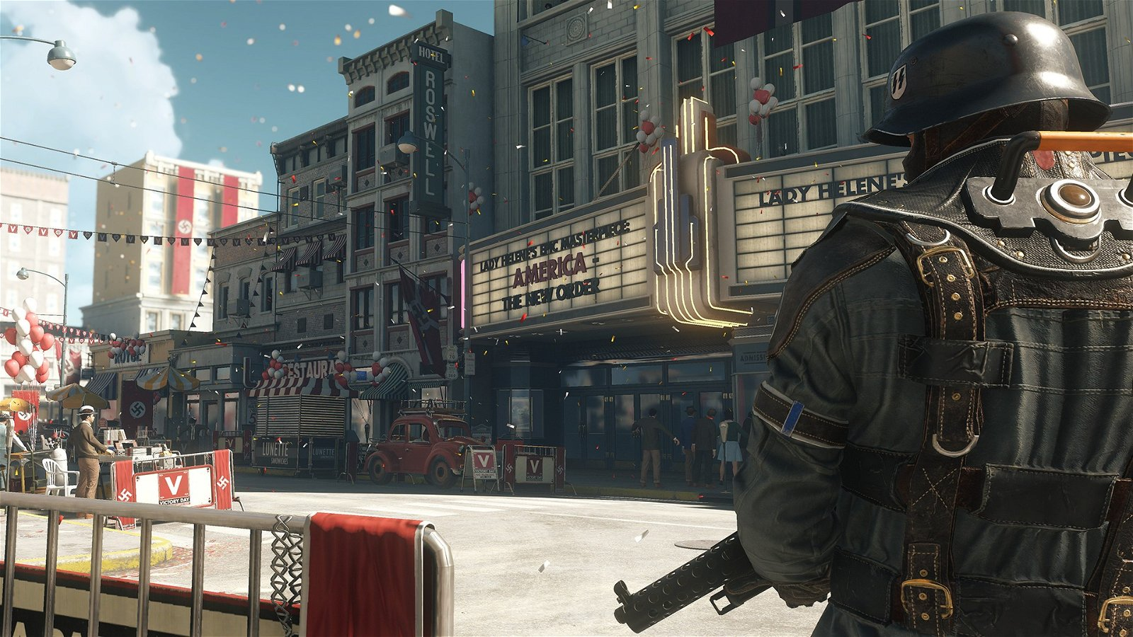 Hands-on With Wolfenstein II: The New Colossus