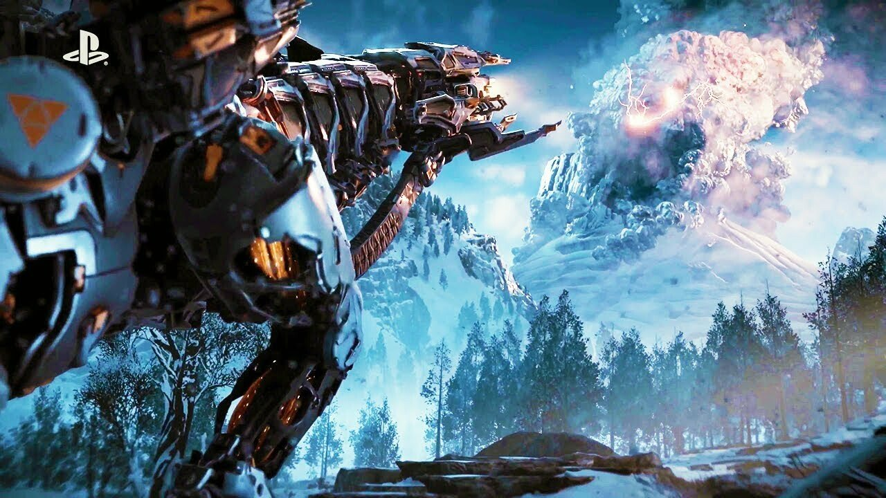 Horizon Zero Dawn The Frozen Wilds Downloadable Content Releasing November 7 2