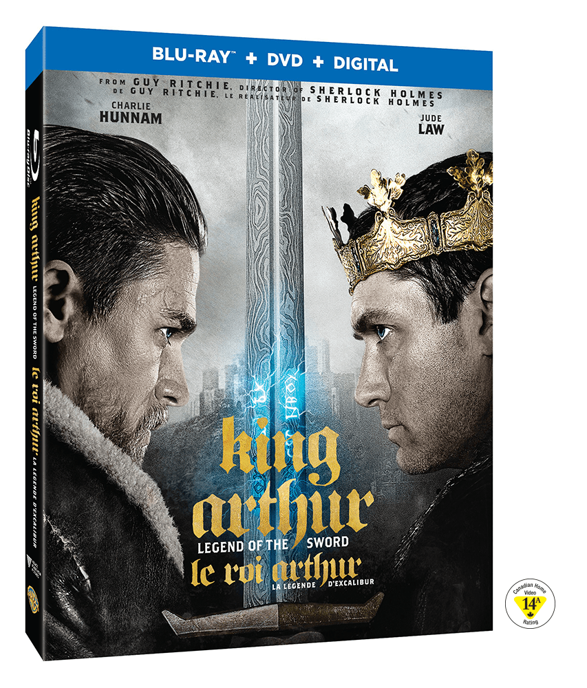 King Arthur Legend of the Sword Blu-Ray Giveaway