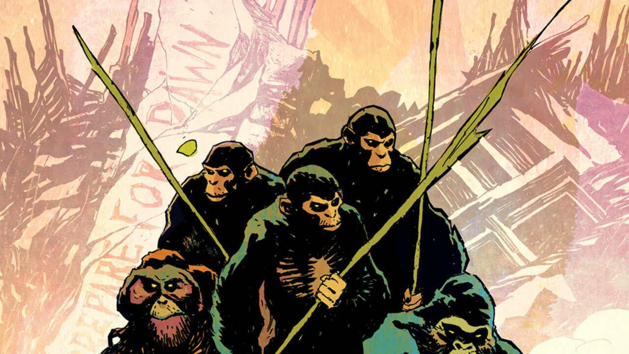 King Kong Meets Planet of the Apes in New Comic Crossover