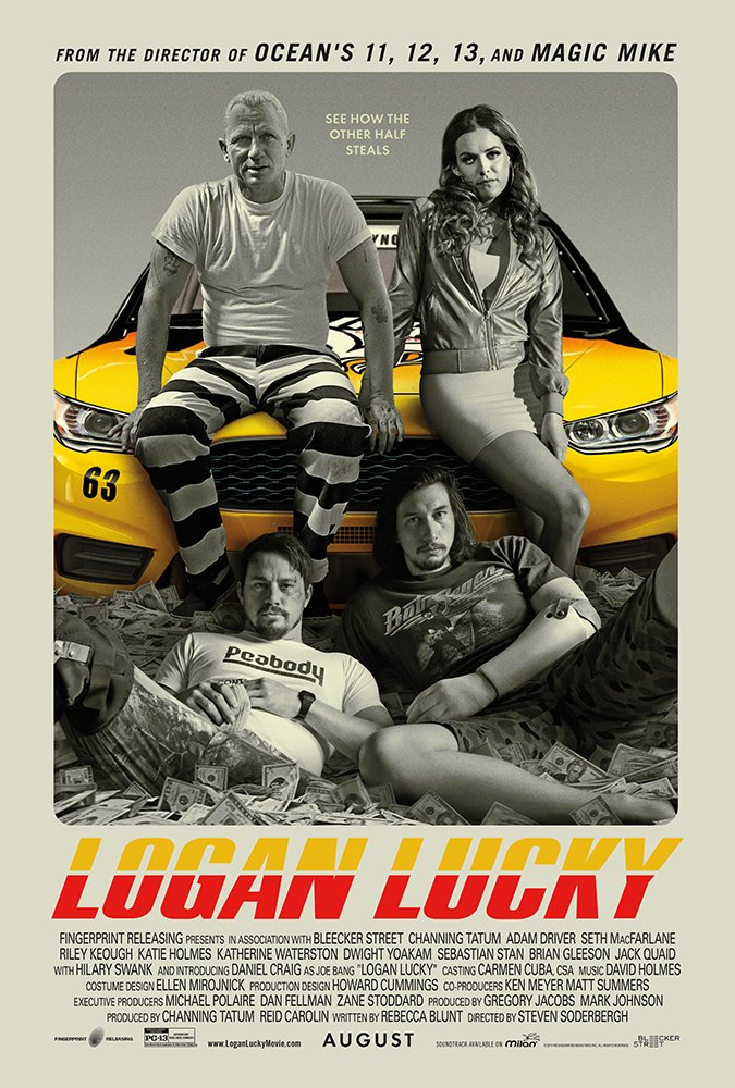 Logan Lucky (Movie) Review: Hick Heist Bliss