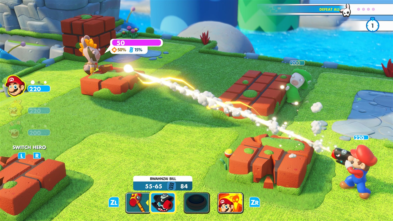 Mario + Rabbids: Kingdom Battle (Switch) Review: Engrossing Tactics &Amp; Gross-Out Humor 1