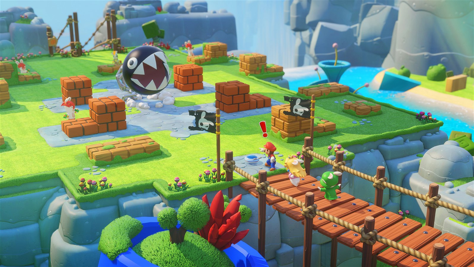Mario + Rabbids: Kingdom Battle (Switch) Review: Engrossing Tactics & Gross-Out Humor 2