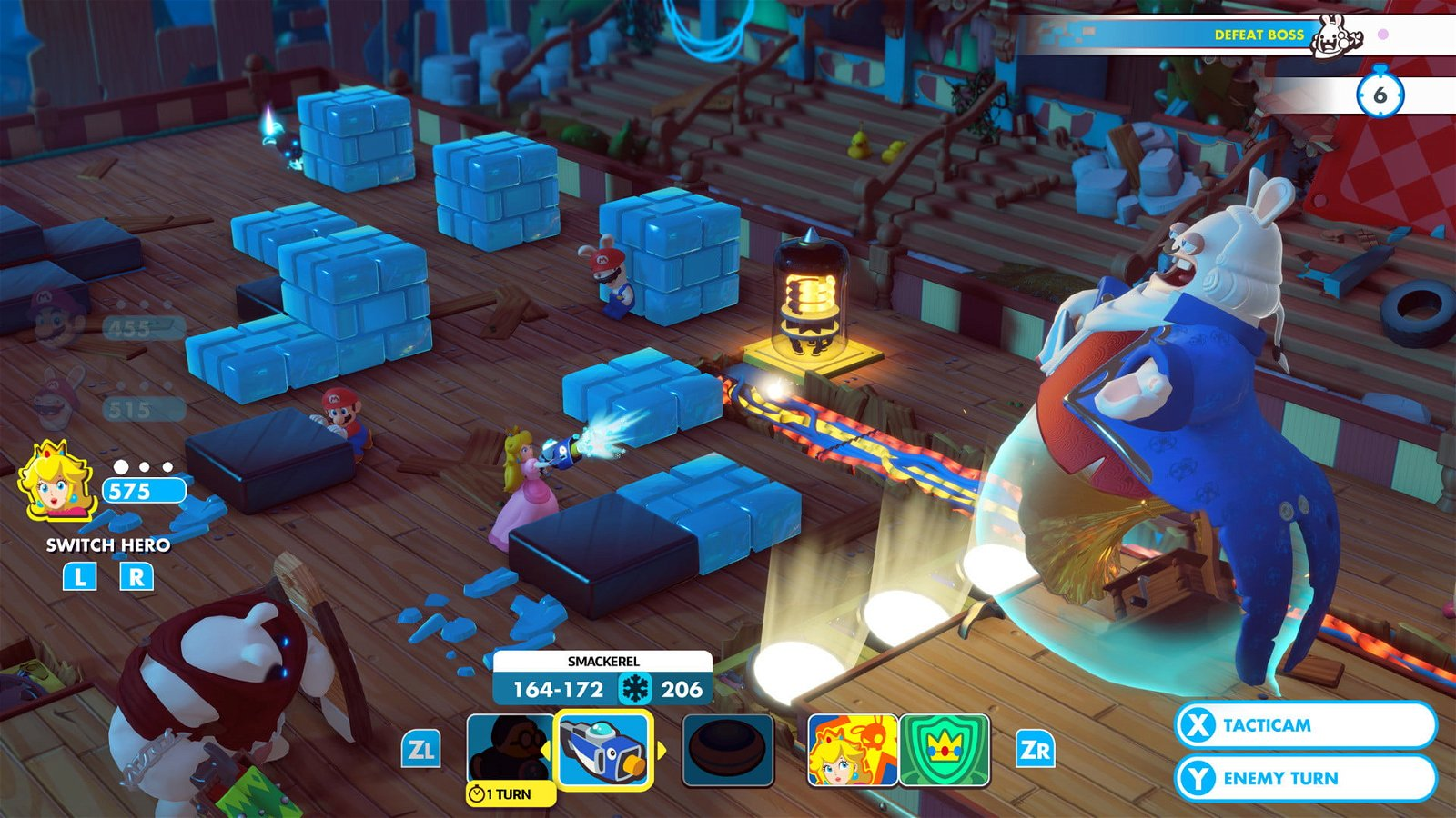 Mario + Rabbids: Kingdom Battle (Switch) Review: Engrossing Tactics & Gross-Out Humor 3