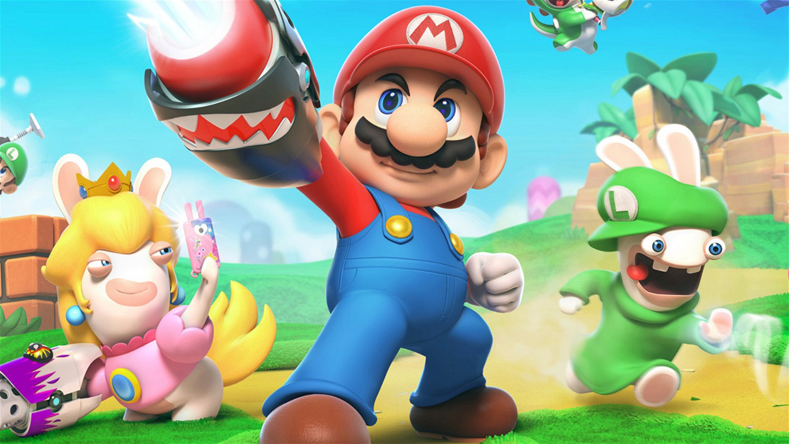 Mario + Rabbids: Kingdom Battle (Switch) Review: Engrossing Tactics & Gross-Out Humor 1