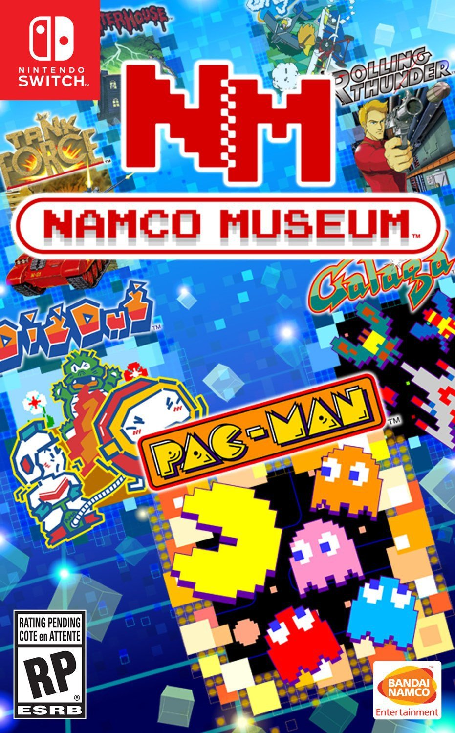 Namco Museum (Switch) Mini-Review - A Pac-Man Party Pack 8