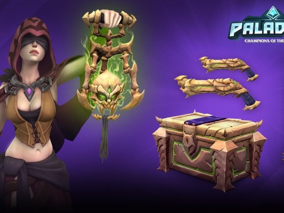 Paladins Necromancer Weapons Skins Giveaway