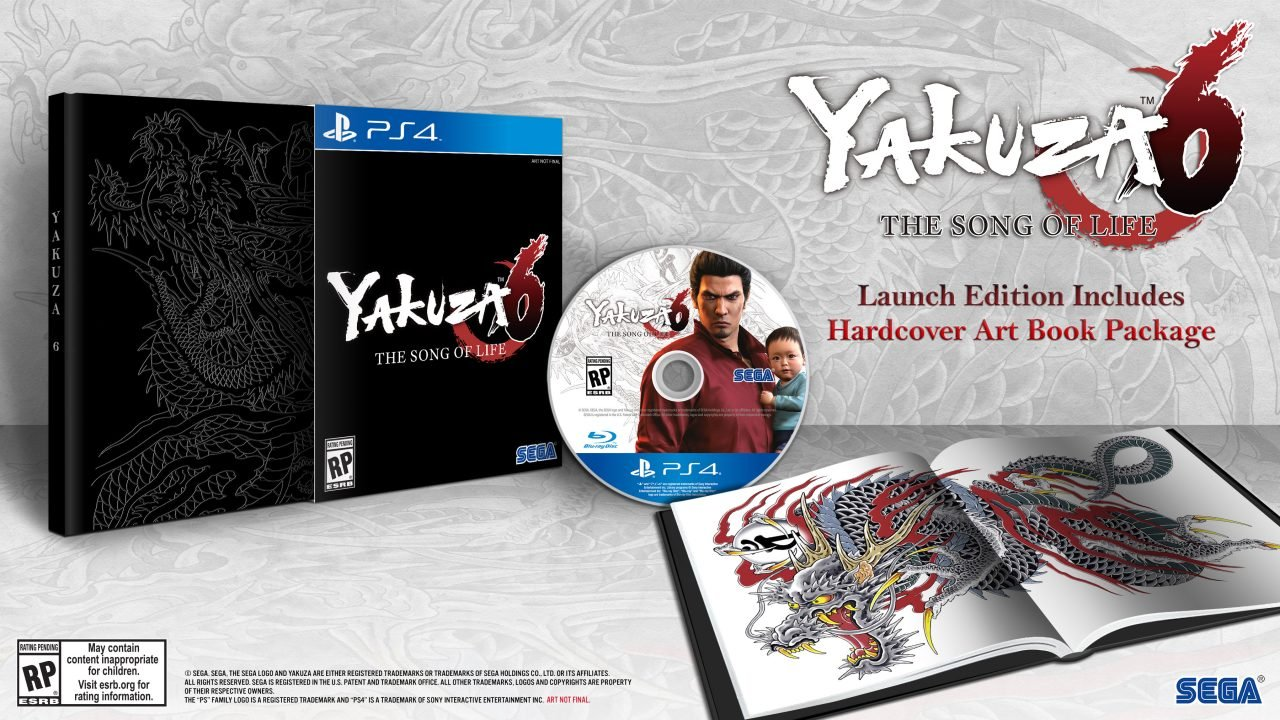Yakuza 6: The Song of Life Comes West with Goodies in Tow