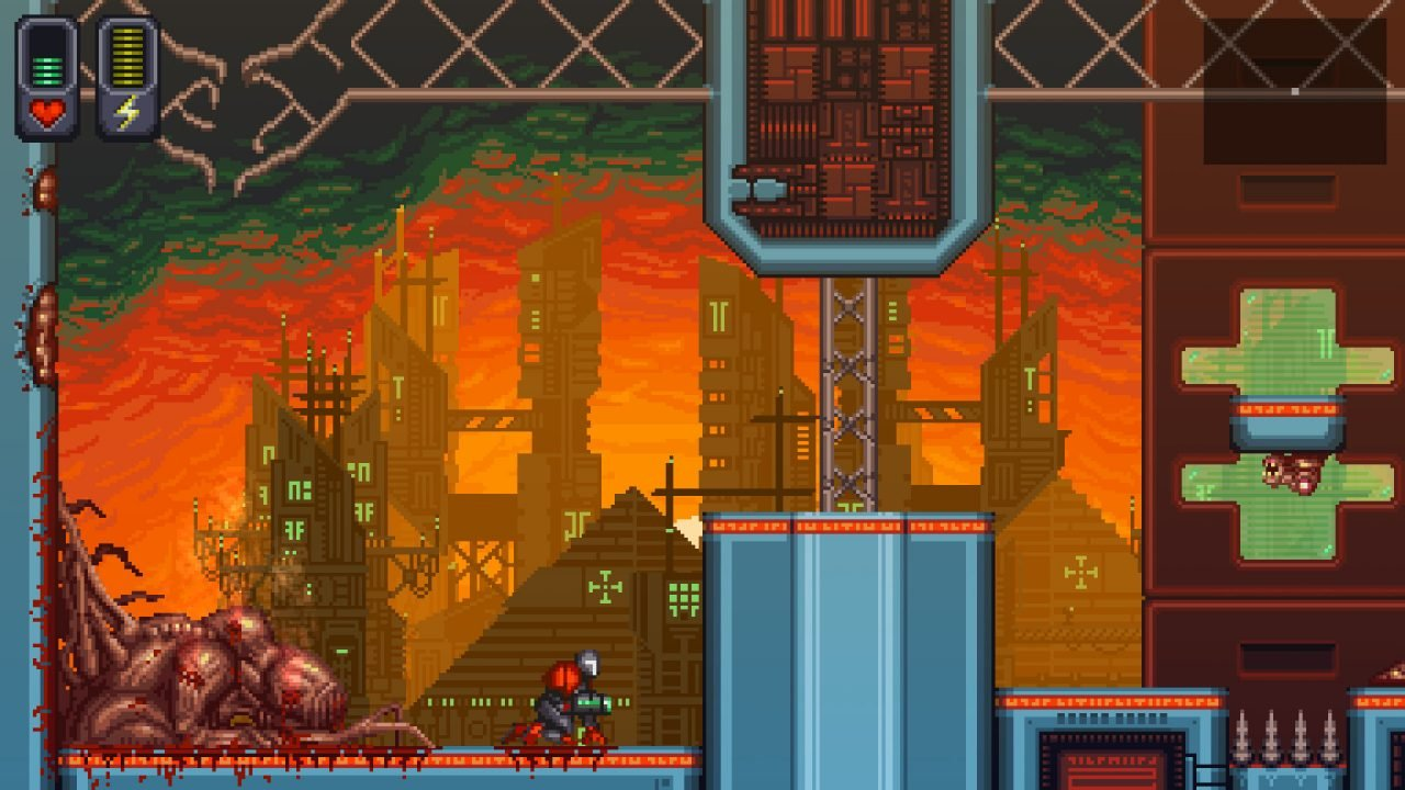 A Robot Named Fight! (Pc) Review - Super Permadeath, Super Roguelike, Super Metroidvania 6
