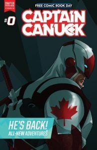 Captain Canuck and Canadian Comic Books, an interview with Kalman Andrasofszky. 1