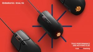 SteelSeries Unveils New Rival 110 Gaming Mouse, Features TrueMove1 Sensor