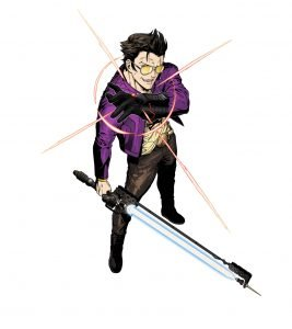 "Suda51: ""I Want to Out-Weird Everyone"" with Travis Strikes Again: No More Heroes 2"