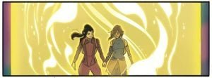 The Legend of Korra: Turf Wars-Part One (Comic) Review 1